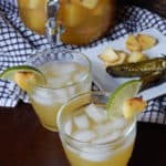 Grilled Pineapple Jalapeno Sangria