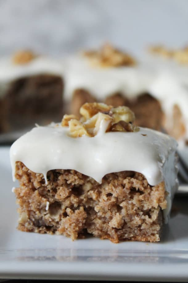 Spice Cake (gluten-free, whole grain, high altitude option)