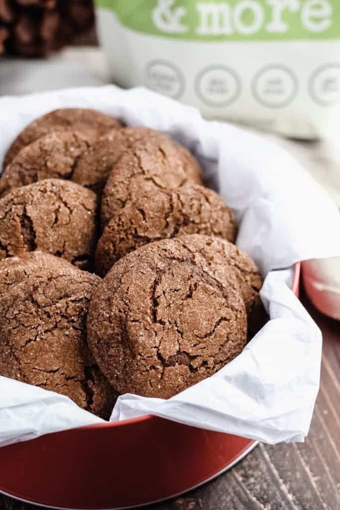 Molasses Cookies Gluten Free Dairy Free Mile High Mitts